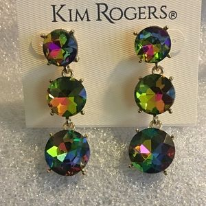 Kim Rogers ~ Rainbow 🌈 Drop Earrings